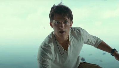 Uncharted: primer tráiler lleno de acción revela a Tom Holland como Nathan Drake