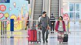 上月9879旅客訪港 按年升8.2%
