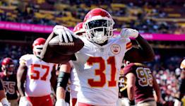 Darrel Williams shines in 'big moment' as Kansas City Chiefs' starting running back