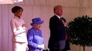 Queen Elizabeth meeting U.S. presidents through the years