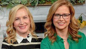 'The Office' star Angela Kinsey says working with costar Jenna Fischer was her dream job and 14 more things you probably didn't know about the actress