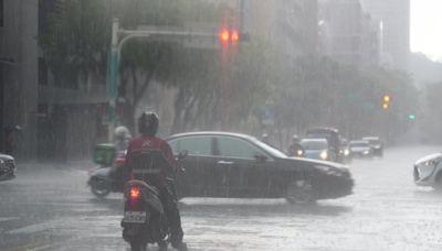 下班通勤注意!午後雷雨來襲 1縣市大雨特報