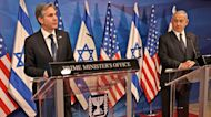 LIVE: Blinken and Netanyahu hold press-conference in Israel