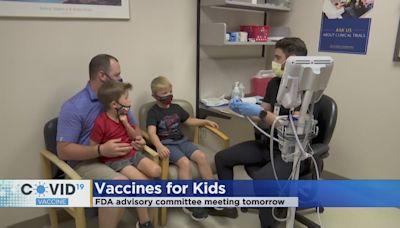 FDA To Discuss Pfizer's COVID Vaccine For 5-11 Years Old