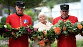 Dame Judi Dench Brings a Sunny Smile to the Queen's Platinum Jubilee Garden at the Chelsea Flower Show