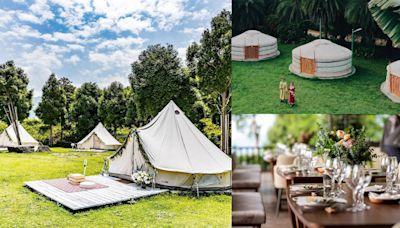全台6間特色豪華露營盤點!在蒙古包、印地安帳棚中看到滿天星空...懶人也能免裝備一次上手!