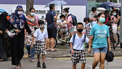 新加坡疫情再升溫 小學暫改遠距上課