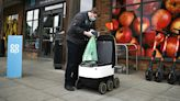 Delivery robots take the strain out of shopping in UK town