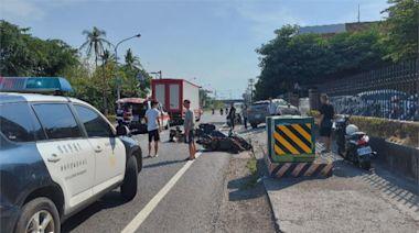 女大生騎車追撞老翁 二人再遭他車撞上喪命