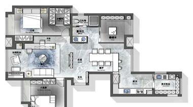 95後小夫妻的新家,酷酷的工業風加上多彩的設計,刻畫出獨家記憶