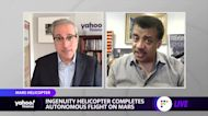 Neil DeGrasse Tyson: Mars Ingenuity's successful flight a 'bad—s accomplishment'