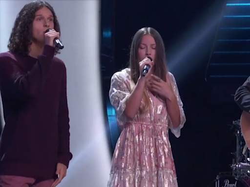 'The Voice': Stunning Vocal Trio Girl Named Tom Gets the First 4-Chair Turn of Season 21