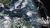 Hurricane Sam, small but mighty, swirls offshore in Atlantic