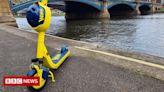 Nottingham e-scooter rental scheme extended despite safety concerns