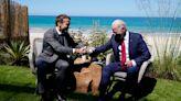 Biden y Macron hablaron de defensa europea y se reunirán en Roma - La Tercera