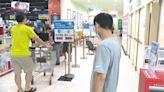 雙北提升3級警戒 民眾湧入賣場搶購