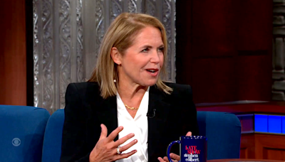 Katie Couric reveals her biggest regret with the Ginsburg-Kaepernick controversy