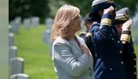 Nurse Springs Into Action When Veteran Collapses In Middle Of Wreath-Laying Ceremony.