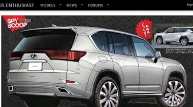 焦點放在全新 7 人跨界,新一代 Lexus LX 搶今年亮相! - 自由電子報汽車頻道
