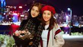 蔡卓妍與細10年吳千語合照少女味十足 細數娛圈童顏女星