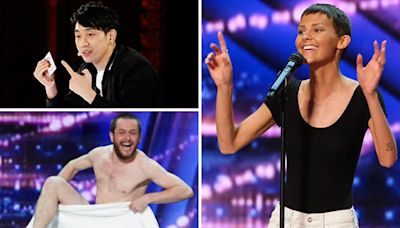 America's Got Talent Recap: Inspiring Singer Brings Simon Cowell to Tears, Earns His Golden Buzzer — Watch
