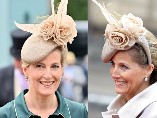 Sophie, Countess of Wessex Recycles Her Hat from Kate and Prince William's Wedding to Royal Ascot