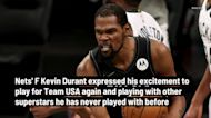 Kevin Durant is excited to play for Team USA again