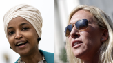 """Ilhan Omar calls Marjorie Taylor Greene """"hypocrite cult leader"""" over masked airplane photo"""