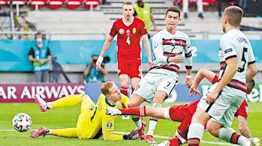 賽後焦點:合轟11球成歐國盃入球王 C朗勁過柏天尼 | 蘋果日報