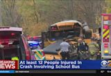 Several Injuries After School Bus Crash In New Windsor