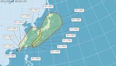 盧碧颱風生成