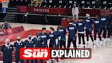 How can I watch the Olympic final France vs USA basketball game?