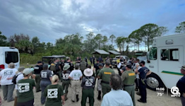 Crews continue searching for Brian Laundrie at Florida nature preserve