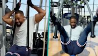 Will Smith Shares Funny Video Of His Experience Using The Gym Post-Quarantine: 'Feeling The Burn'