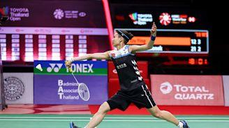 泰國公開賽 戴資穎將再對決馬琳爭冠 (圖)