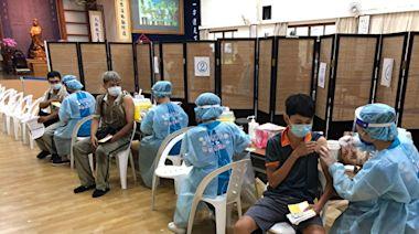 7月22日桃園地區第二梯次第七類疫苗施打