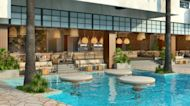 Virgin Hotels Las Vegas divulges details on outdoor pool and entertainment complex