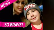 Kim Zolciak's Son Kash, 8, Breaks Arm and Has Allergic Reaction to Cast