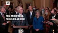 Sen. McConnell, Schumer at odds over debt ceiling
