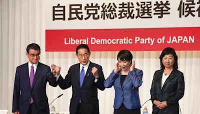 日本自民黨總裁四名候選人展開拉票活動 - RTHK