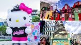 歐風小鎮彩色童話屋!巨型Hello Kitty聖誕樹登場 | 蕃新聞