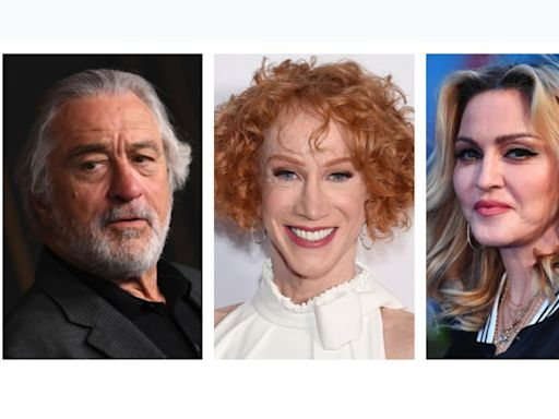 Madonna, Robert De Niro, Kathy Griffin called out in Trump impeachment hearing