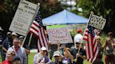 Far-right movements including QAnon, virus skeptics linked to Newsom recall