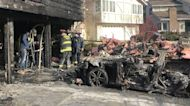 Tesla Model S fire spread to another Tesla, consumed garage and damaged home, owner says