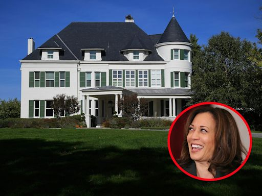 Inside Number One Observatory Circle, the vice president's official residence where Kamala Harris is finally moving this week