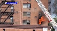 Fire at 5-story building in New Jersey causes power outages in area