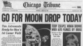 This day in history, July 19: Apollo 11 and its astronauts, Neil Armstrong, Edwin 'Buzz' Aldrin and Michael Collins, go into orbit around the moon