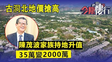 陳茂波家族古洞地 35萬變2,000萬 | 蘋果日報