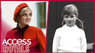 Princess Diana Sports Pigtails In Rare Childhood Photo Taken By Her Father