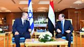 Israel, Egypt leaders meet to de-escalate Gaza tensions